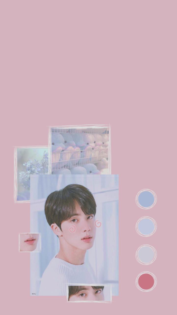 Bts Jin Soft Lockscreen Aesthetic Kpop Tumblr