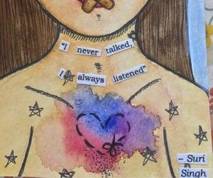 art, sayings, and silence image