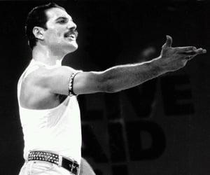 Freddie Mercury, Queen, and band image