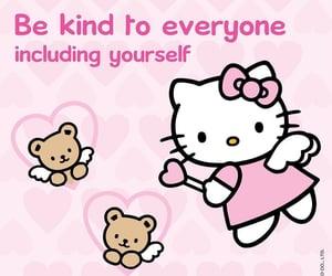hello kitty, kawaii, and quotes image