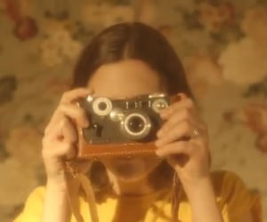 vintage, aesthetic, and yellow image