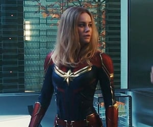 Avengers, Marvel, and brie larson image