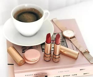 coffee, cosmetics, and cozy image