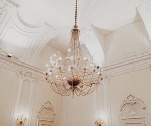 chandelier, light, and indie image