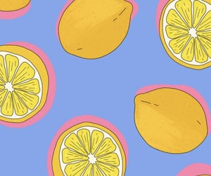 lemons, summer, and wallpaper image