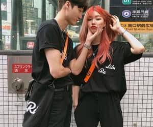 korean, couple, and asian image