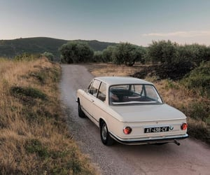 vintage, car, and nature image