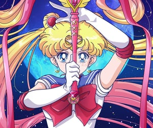sailor moon and 美少女戦士セーラームーン image