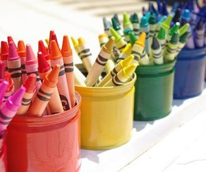 crayon, colorful, and colors image