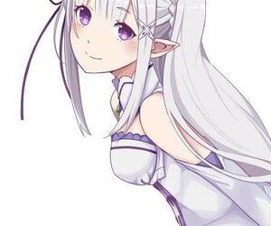 anime, cute, and re:zero image