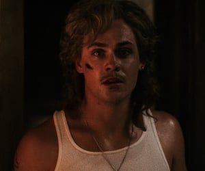 stranger things, billy hargrove, and dacre montgomery image