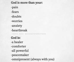 faith, god, and problems image