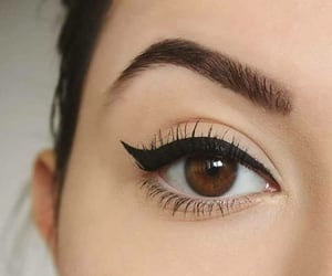 makeup and eyeliner image