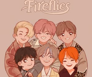 fanart, fireflies, and jaemin image