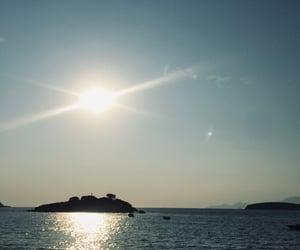 blue, sun, and Sunny image