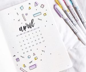 april, cover, and idea image