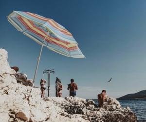 art, coast, and Croatia image