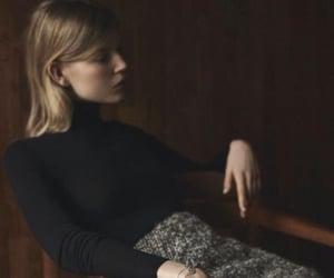 blonde, dark, and dark academia image