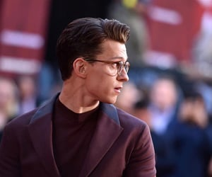 tom holland, actor, and Marvel image