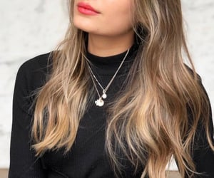 blonde, jewerly, and hair image