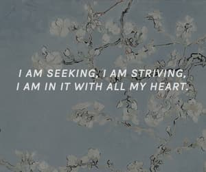 heart, quote, and vincent van gogh image