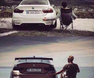 bmw, boy, and cars image