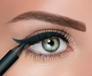 beauty, eyebrows, and eyelashes image