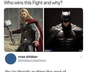 batman, meme, and thor image