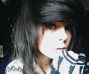alternative, scene hair, and emo girl image