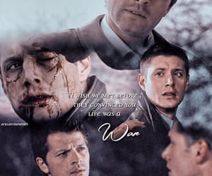 aesthetic, spn, and dean winchester image
