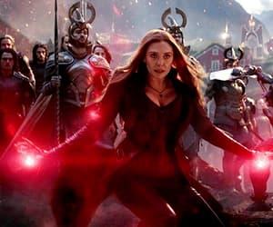Avengers, elizabeth olsen, and gif image