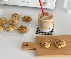 coffee, chocolate, and Cookies image