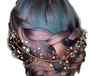 braid, bun, and fairy image