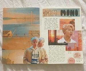 journal, kpop, and rm image