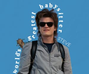 steve, steve harrington, and wallpaper image