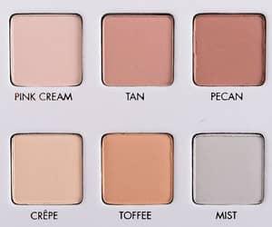 makeup, aesthetic, and eyeshadow image