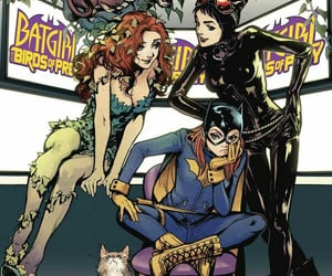 batgirl, catwoman, and comics image