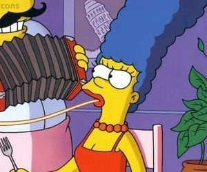 marge simpson and wallpaper image