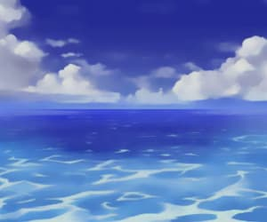 anime, blue, and header image