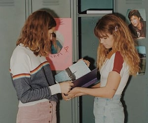 1990, 80s, and girls image