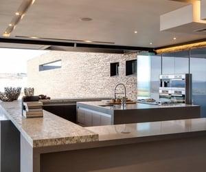 kitchen, luxury, and beautiful image