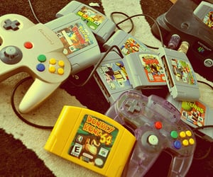 game, nintendo, and video games image