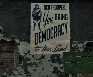 democracy, ncr, and fallout image