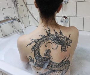 dragons, tattos, and inspo image