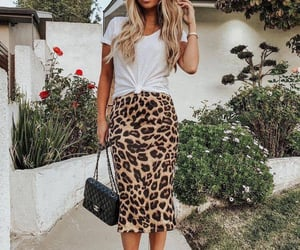 animal print, beauty, and style image