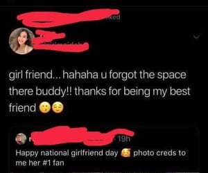 girlfriend, savage, and just friends image