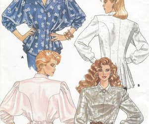 pattern patter team, 80s sewing patterns, and vintage 80s patterns image