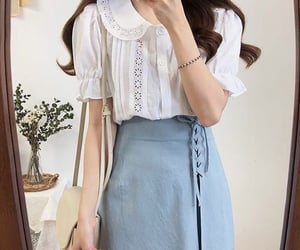 blue, fashion, and outfits image