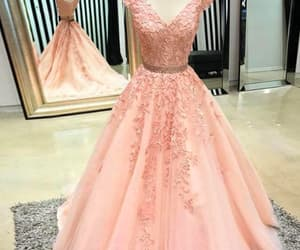 prom gowns, beaded prom dress, and prom gown image
