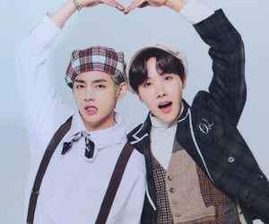 bts, jhope, and vhope image